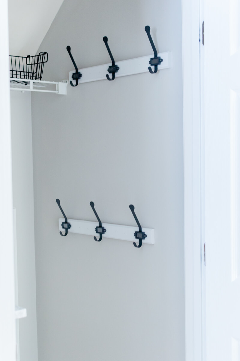 Mudroom Closet Hooks From Ikea