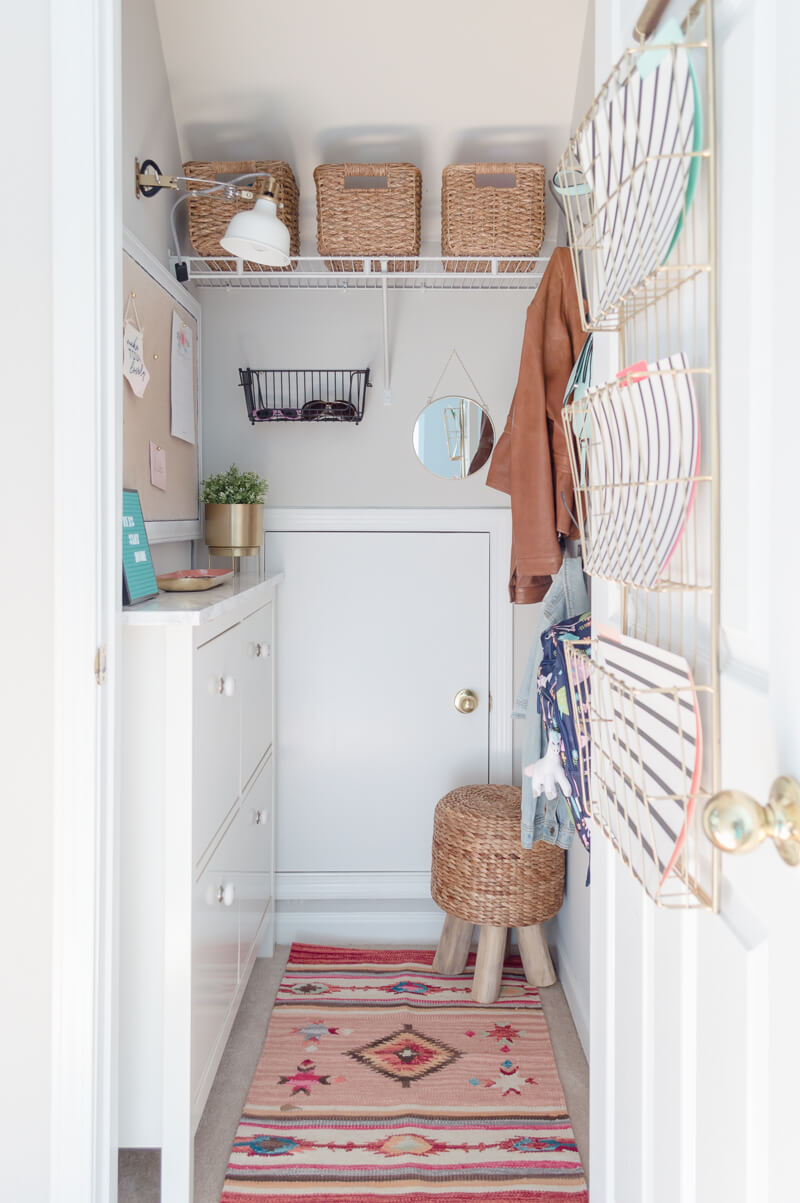 Mudroom Closet Makeover Ideas