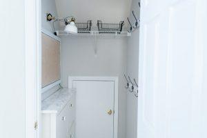 Mudroom Closet Set Up