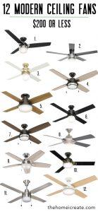 12 modern ceiling fans