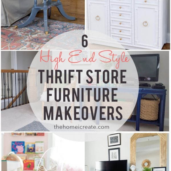 6 high end style furniture makeovers