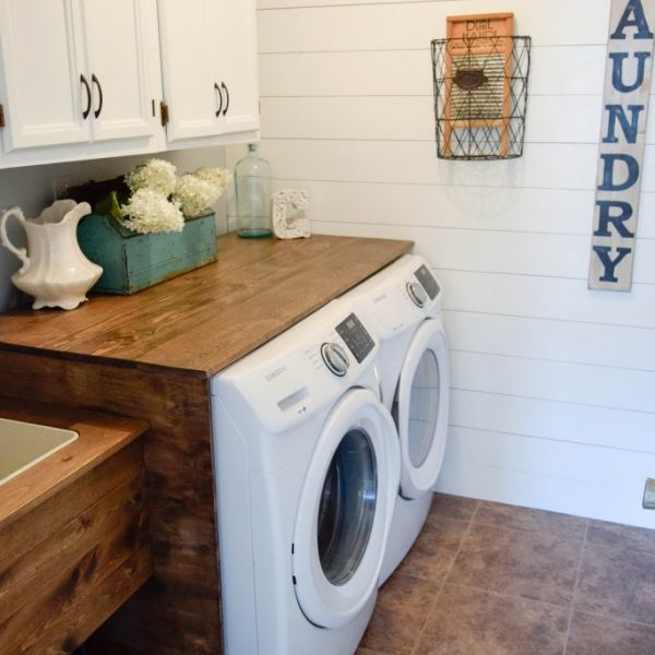 $100 laundry room makeover