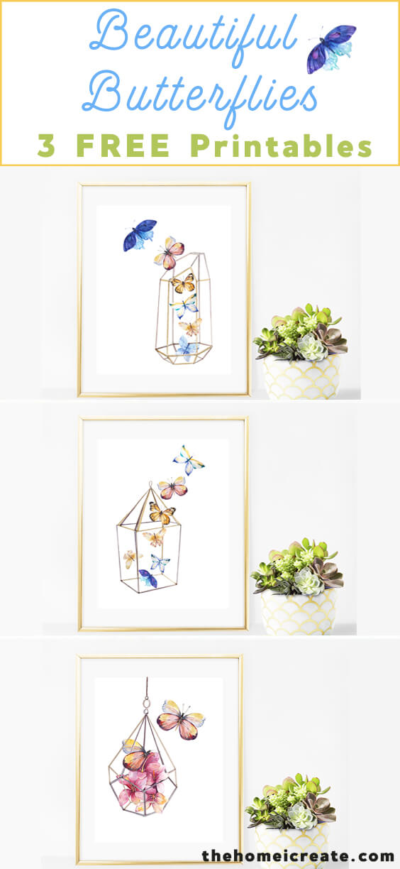 Beautiful Butterflies Printable