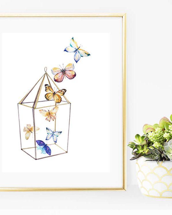 Beautiful Butterflies – 3 Free Printables