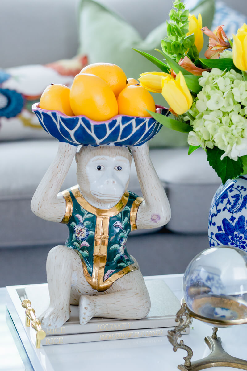 Chinoiserie Monkey Figure