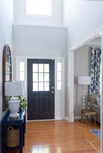 Front Door Painted Sherwin Williams Iron Ore