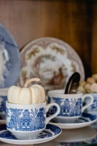 Blue Willow Tea Cup