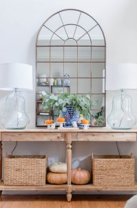 Blue and Orange Fall Home Tour 2 (2 of 14)