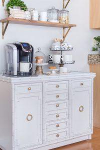 DIY Coffee Bar Update