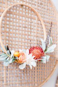 Fall DIY Embroidery Hoop Wreath
