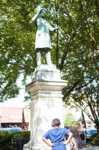 Marietta Square Statue