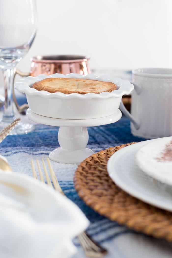 Mini Thanksgiving Apple Pies