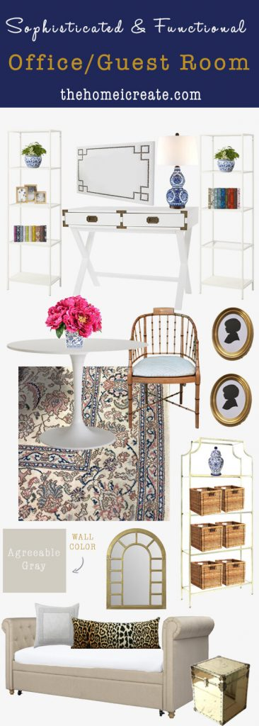 Office Guest Room Mood Board Main