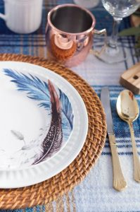 Pier 1 Feather Plates