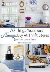 Decorate For Less With These 10 Thrift Stores Items