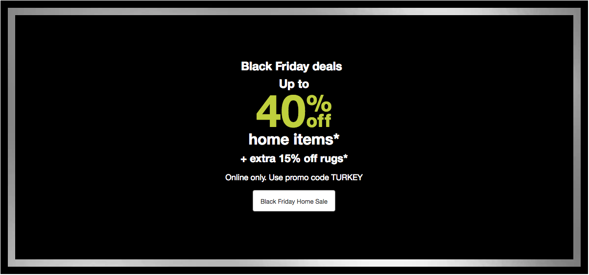 2018 Target Black Friday Sale