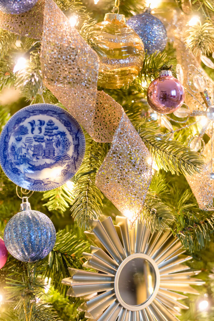 Blue Willow Ornament