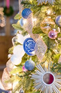 Blue Willow Plate Ornament