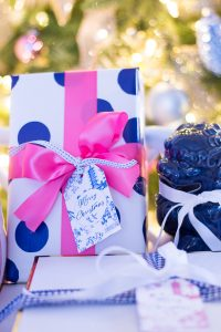 Blue and White Chinoiserie Gift Tag