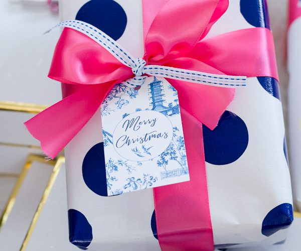 Chinoiserie Gift Tag