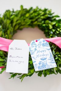 Chinoiserie Gift Tags To and From