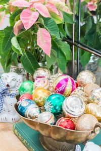 Colorful Vintage Ornaments