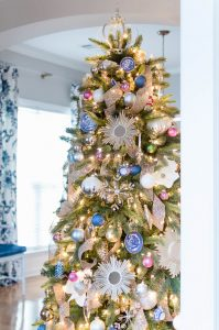 Crown Christmas Tree Topper