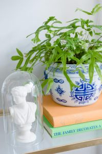 Double Happiness Blue and White Planter