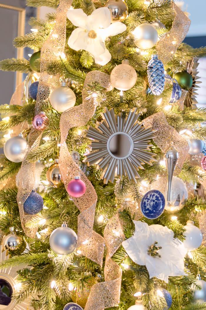 Mirror Christmas Tree Ornament