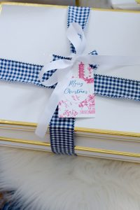 Pink Chinoiserie Gift Tag