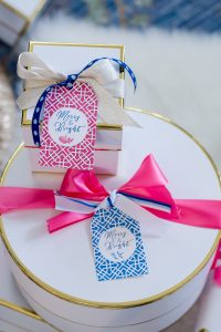 Preppy Chinoiserie Gift Tags