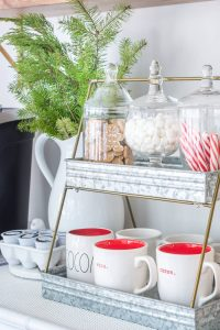DIY Hot Cocoa Bar Fixings