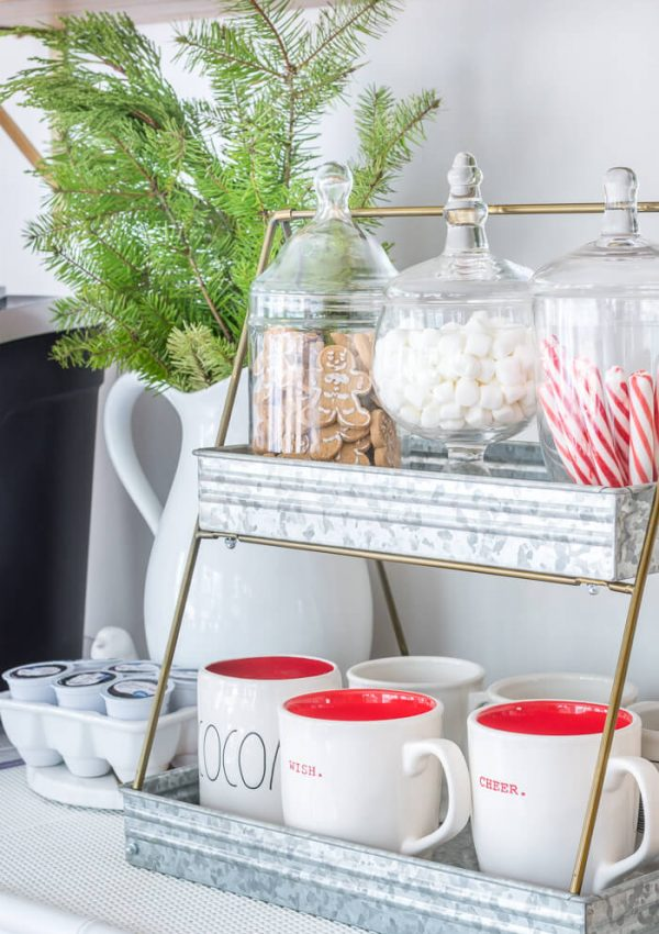 DIY Hot Cocoa Bar With A Keurig