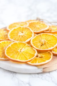 How Dry Orange Slices In The Oven