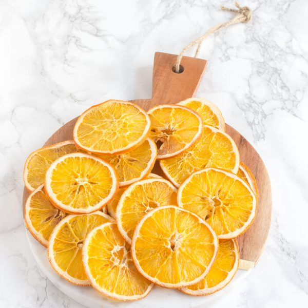 How Dry Orange Slices In The Oven