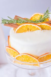White Grocery Store Cake