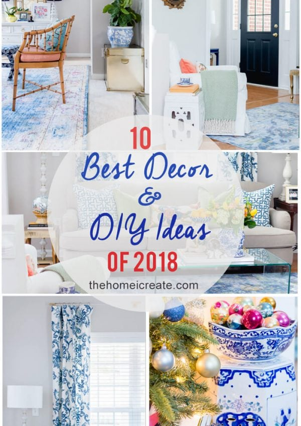Top 10 Decor and DIY Ideas of 2018