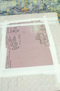 DIY Bulletin Board Step 2