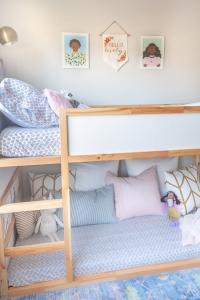 IKEA Kura bed with pillows