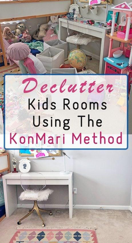 KonMari Inspired Kids Room Decluttering – $100 Room Challenge