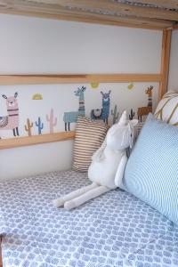 Llama wall decals