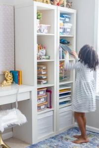 Organized Kids Crafts Supply
