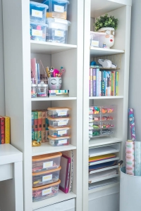 Simple Kids Art Supply Organization