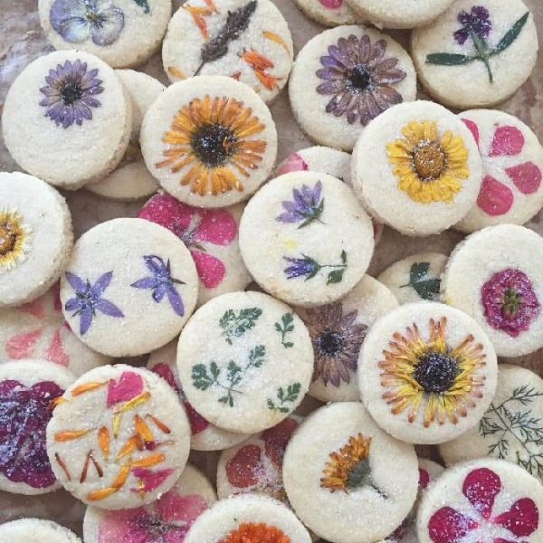 Flower Press Cookies