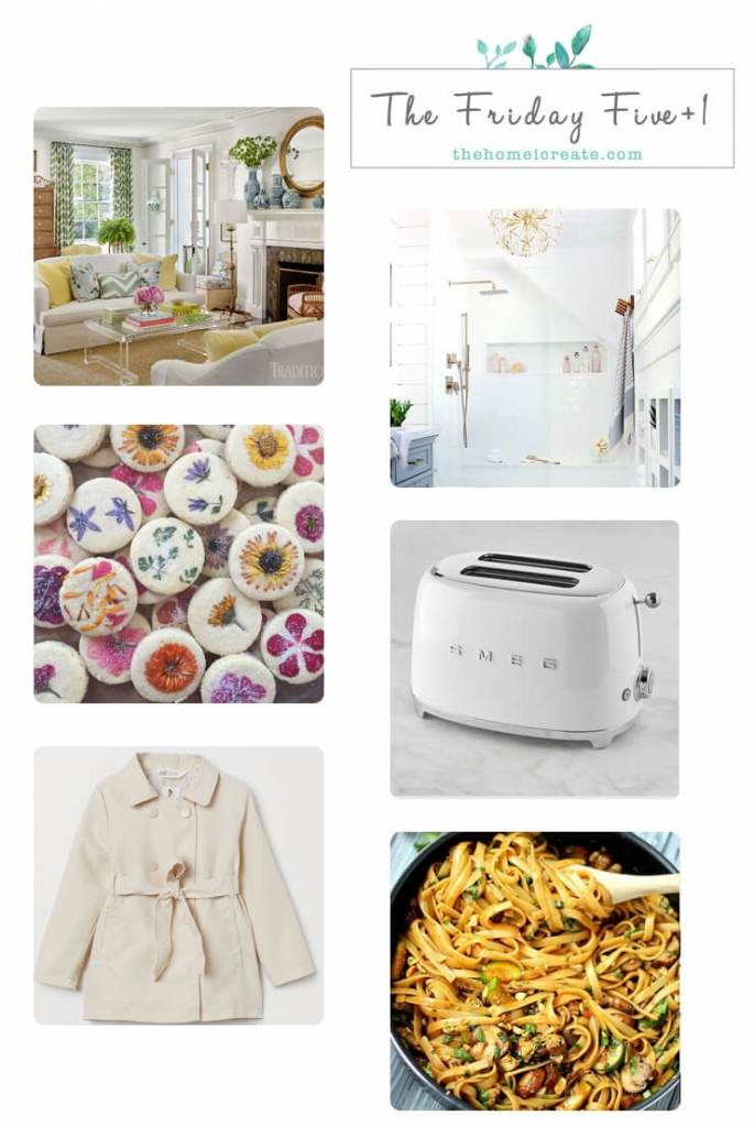 The Friday Five +1 some fun links for you to check out over coffee this weekend. | the home I create