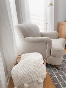 Cozy Neutral Armchair - When your decorating style changes