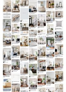 Neutral Home Pinterest Board - When your decorating style changes