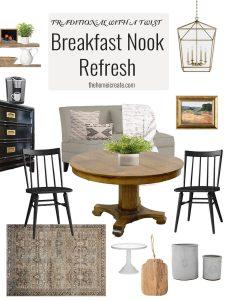 Breakfast Nook Refresh Mood Board