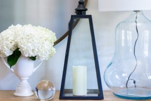 Decorative Black Lantern