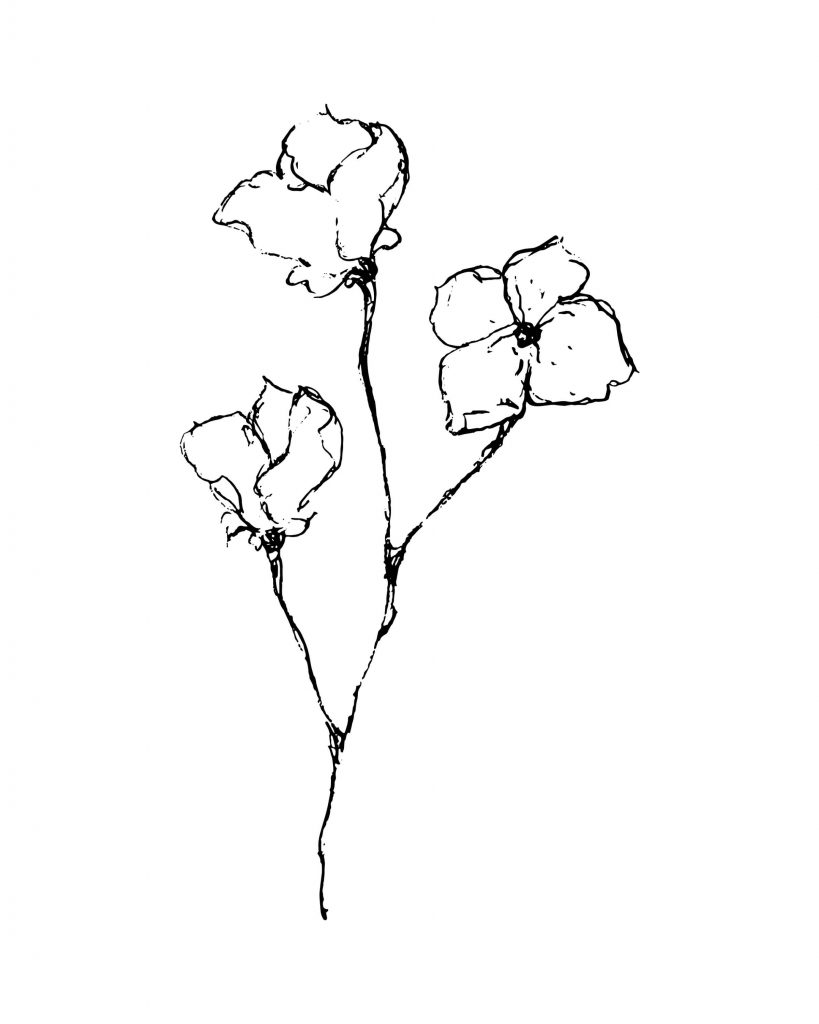 Delicate-Black-And-White-Flower-Printable-scaled